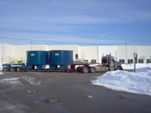 14' thickener shipment